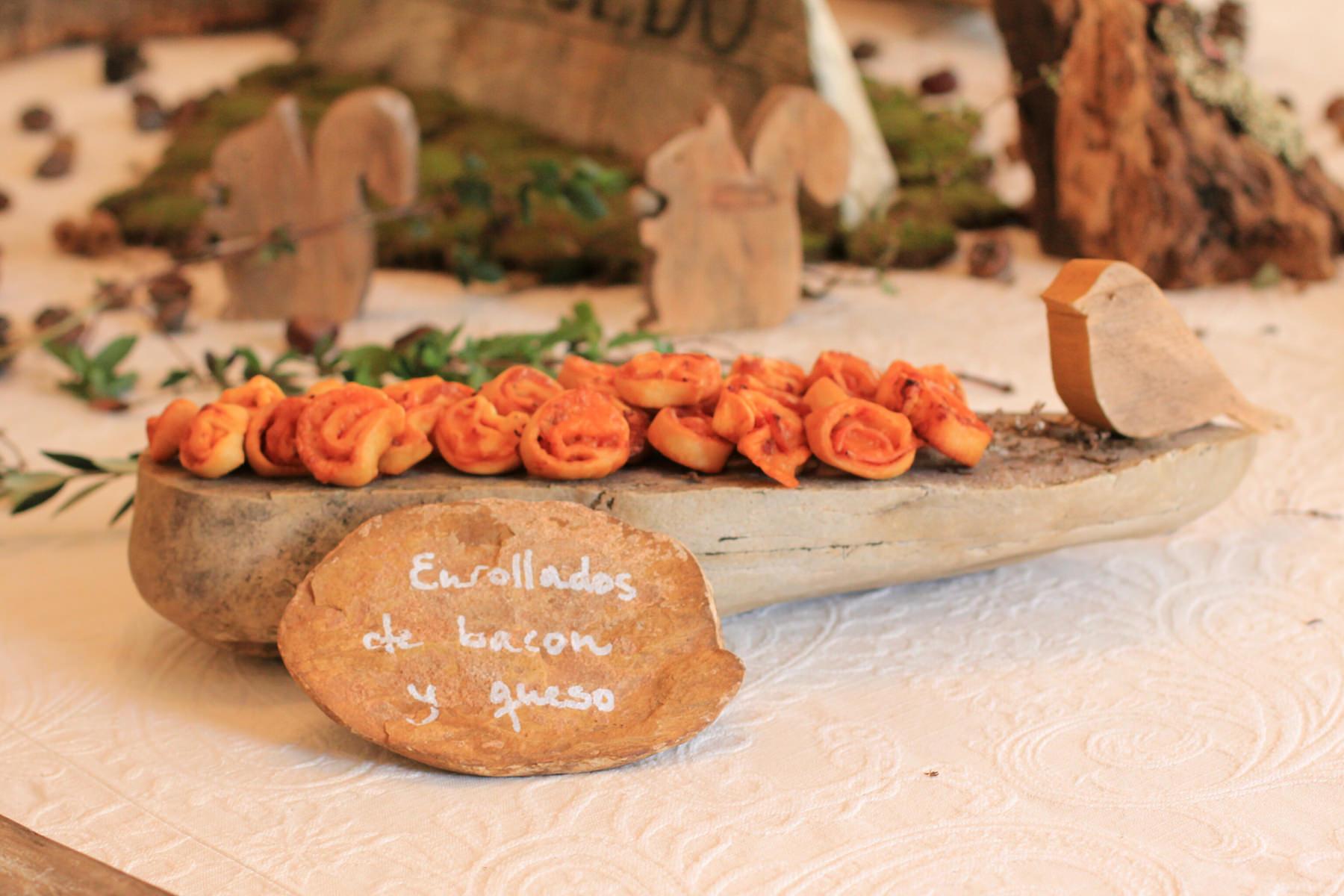 Cenas Adivina, decoración