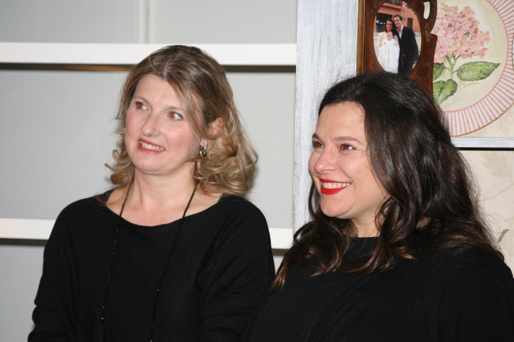 Con Alejandra del blog yomemimo