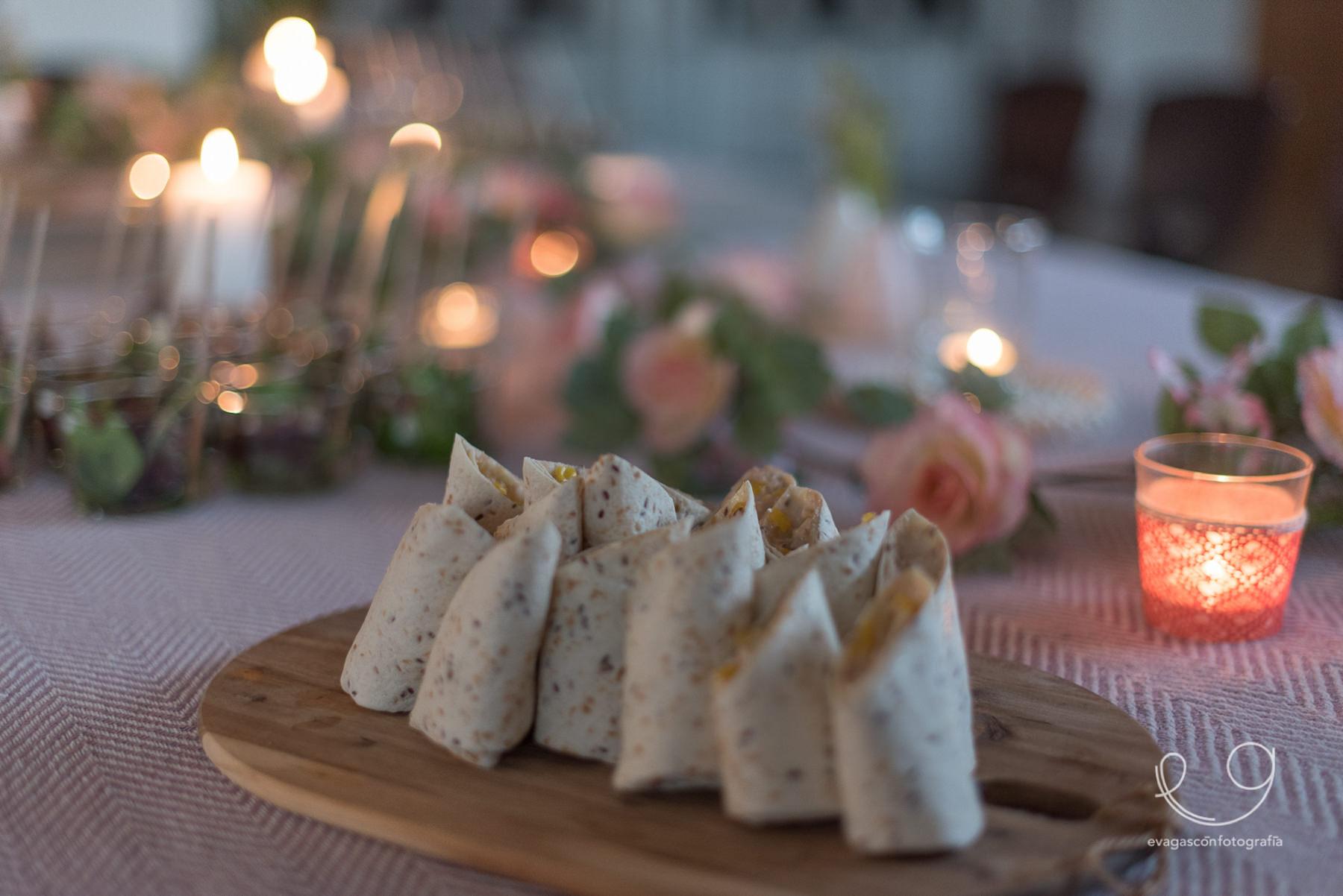 Cenas Adivina, catering