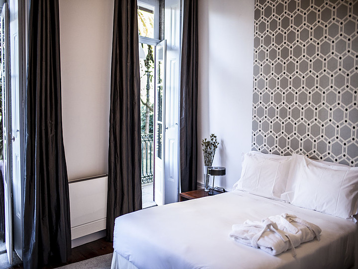 Hotel Oporto Loft, dormitorio