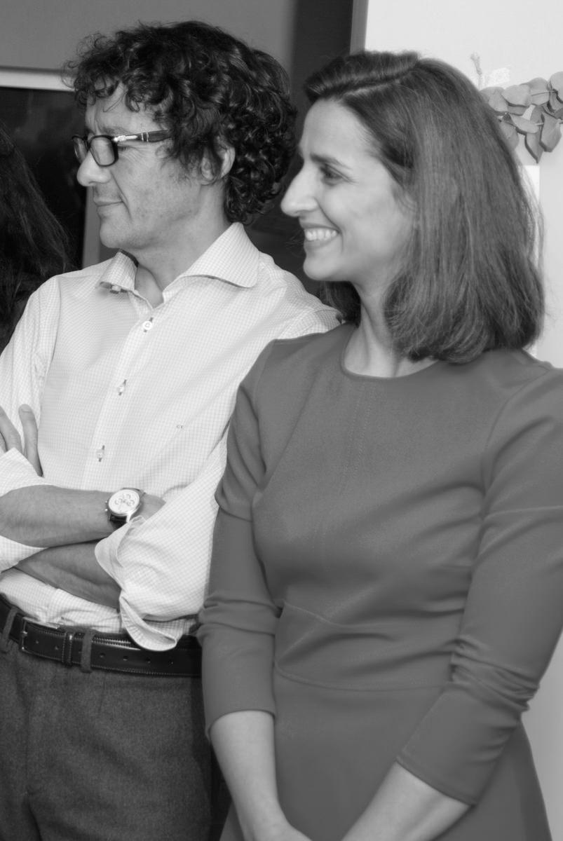 Con Laura Monge
